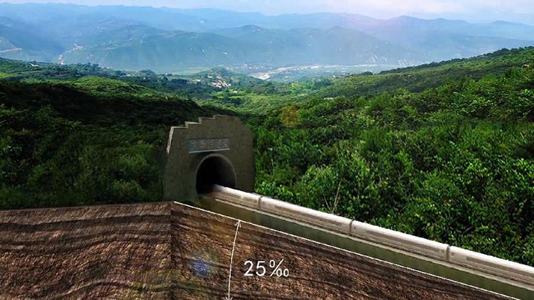 36秒动画丨穿隧道、爬陡坡,西成高铁这样带你吃串串