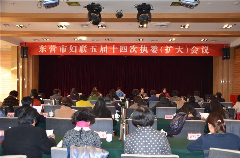 东营市妇联召开五届十四次执委(扩大)会议