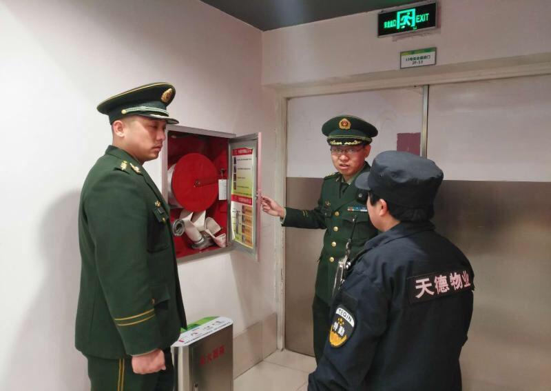 淄博消防开展疏散楼梯间专项检查 督促整改隐患160余处