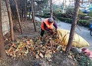 潍坊环卫工人每天工作超10小时 绿化带成清理重点区域