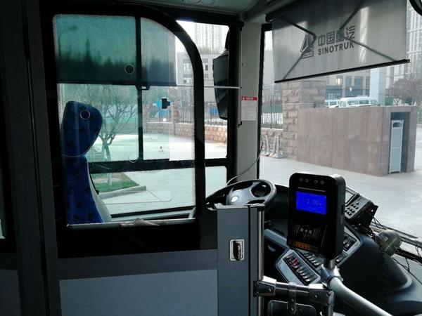 济南公交k166路、115路换新车 将实现手机支付