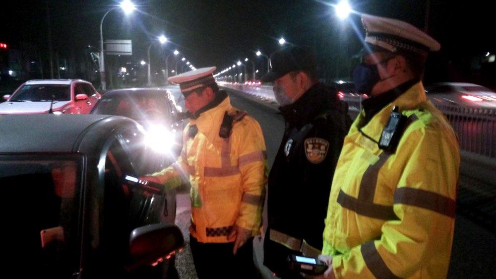 淄博交警开展交通安全百日集中行动 查处违法行为2404起