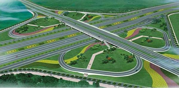 """章丘高标准启动城市通道建设 跨入""""立体交通新时代"""""""