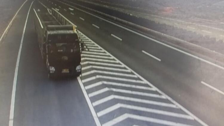 29秒|大货车在高速上做这个动作 被记12分罚200元