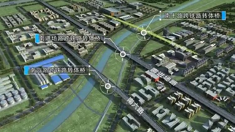 47秒动画丨揭秘青岛新机场开国内先河的桥梁转体施工法