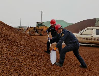 前11个月日照口岸进口铁矿超1.3亿吨