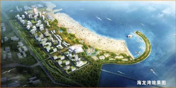 """日照将新增46万㎡金沙滩  """"海龙湾""""主体已见雏形"""