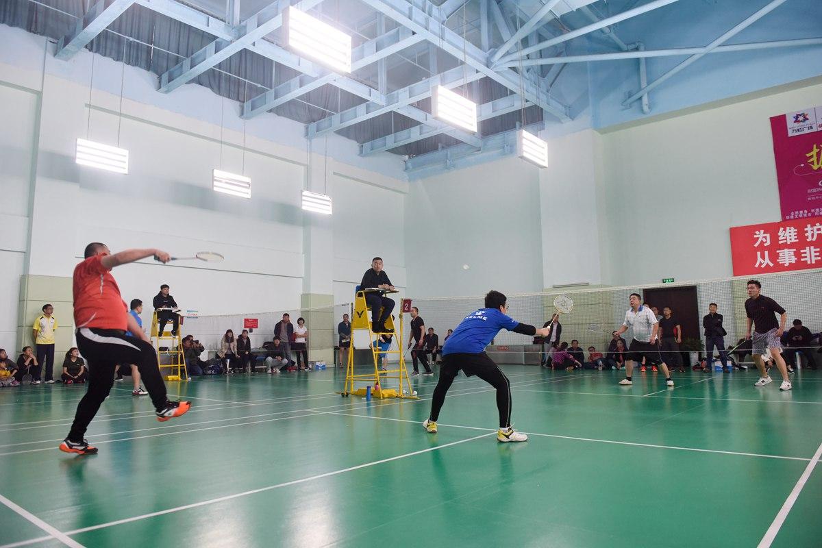 山东广播电视台第二届职工羽毛球比赛在济南拉开帷幕