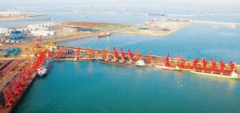 涅槃重生 日照港累计实现利税12.36亿元