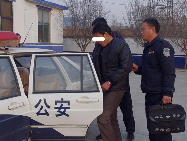 """""""三进宫""""仍不思悔改 青州一男子再伸贼手被刑拘"""