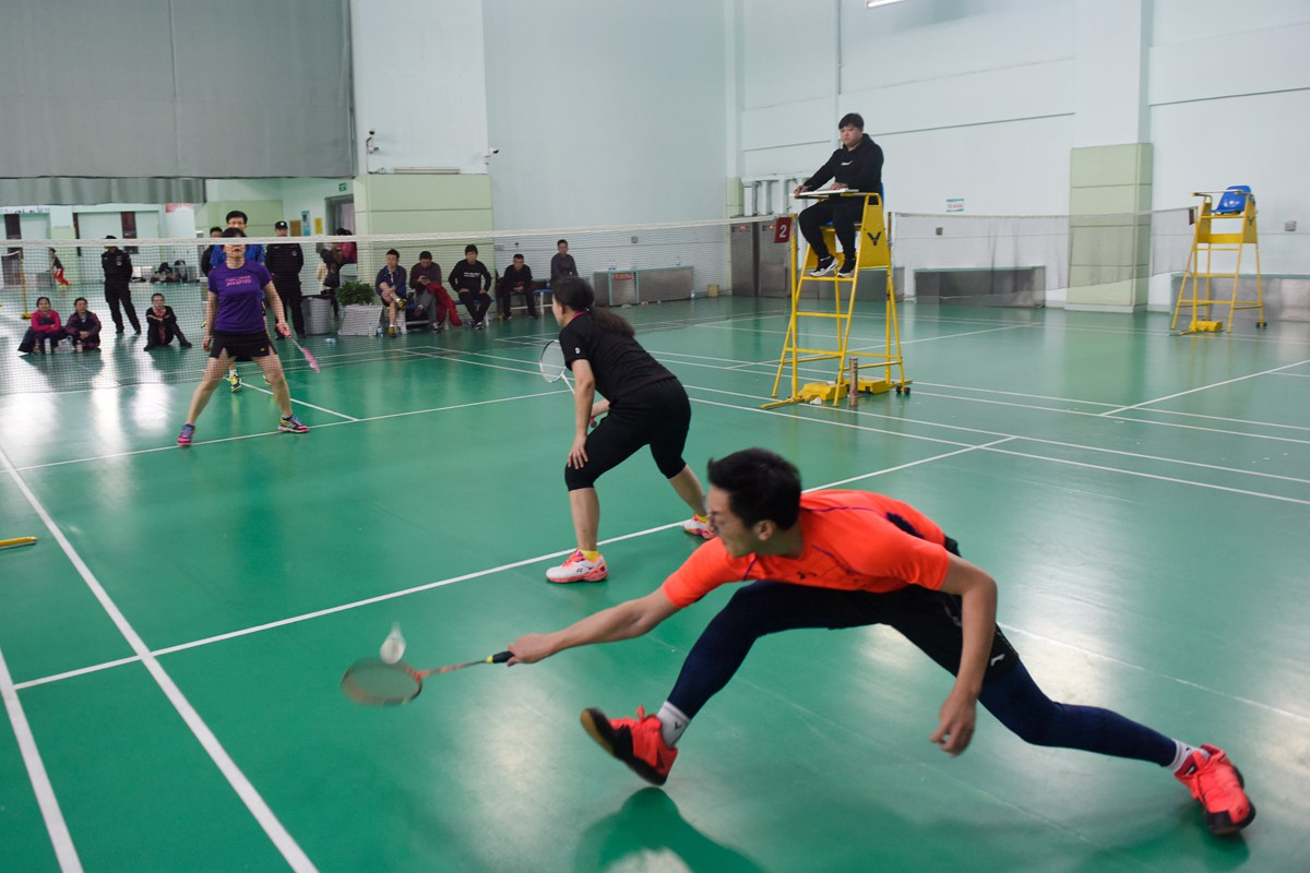 山东广播电视台第二届职工羽毛球比赛圆满落幕