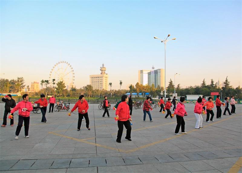 """济宁任城区跻身""""全国健身球操之乡"""""""