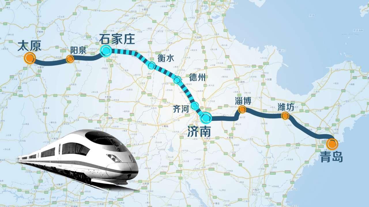 国内首条地方控股高速铁路——济青高铁线下工程全线贯通