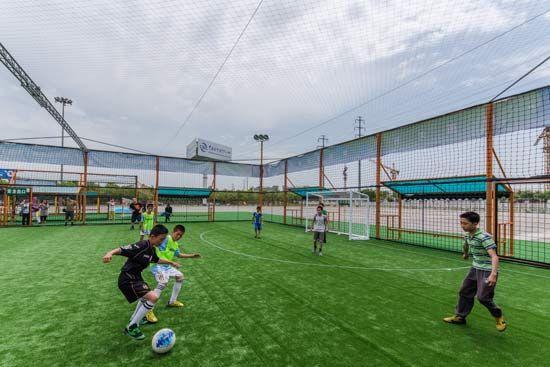 济宁新建55处笼式球类体育场 看看有你家附近的吗?