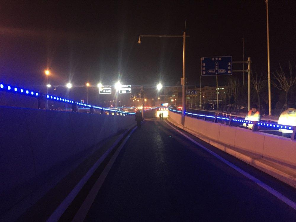 济南玉函路隧道23日零时通车 经十路到二环南仅需10分钟