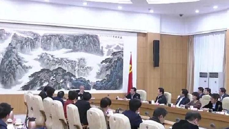 中共山东省委召开党外人士座谈会 征求对经济工作的意见建议