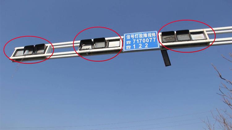 24秒 | 东营一十字路口红绿灯遭损坏,竟然是它惹的祸……