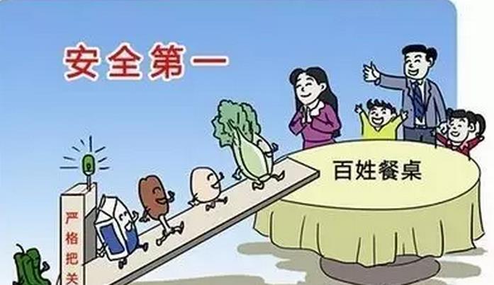 省验收组验收枣庄山亭创建省级食品安全先进县工作