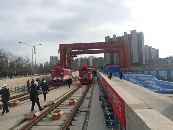 青岛地铁13号线实现轨通 2018年全线通车