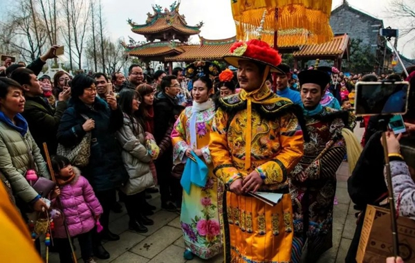 台儿庄古城新年庙会元旦开启,这么热闹才有年味!