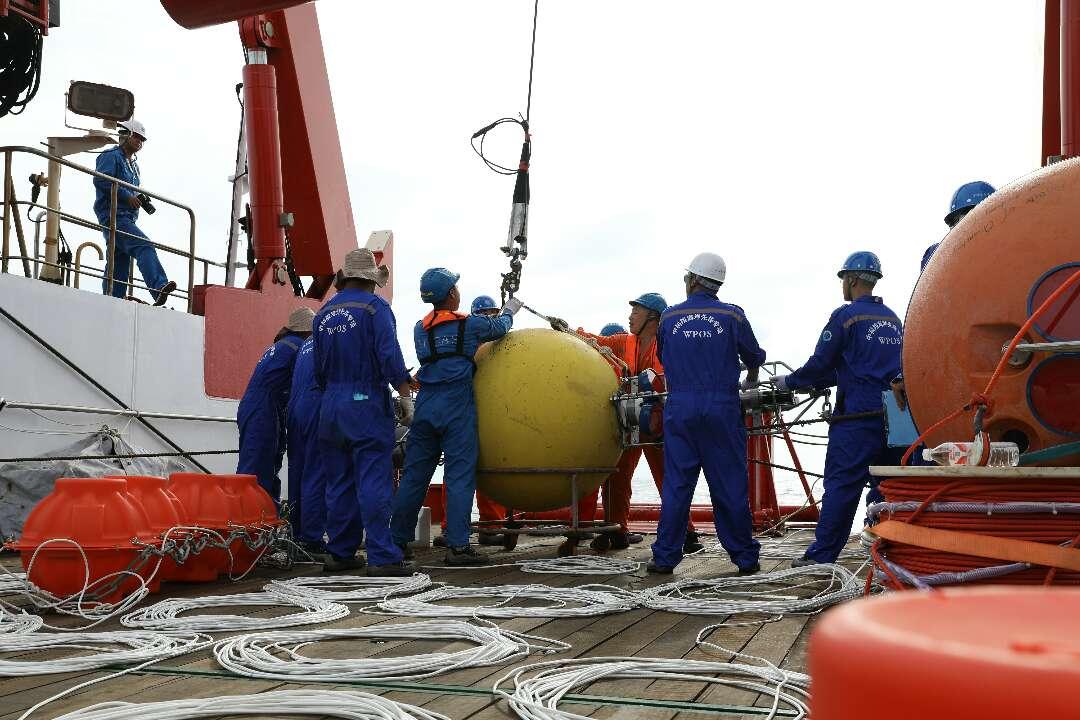 西太平洋深海大水深数据实现实时传输