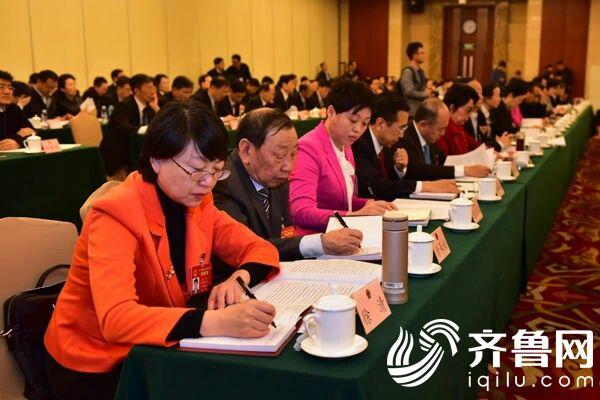 山东代表团举行第三次全体会议 审查计划报告和预算报告