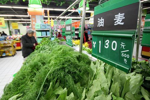 """山东市场叶类蔬菜纷纷上市 价格进入""""一元时代"""""""