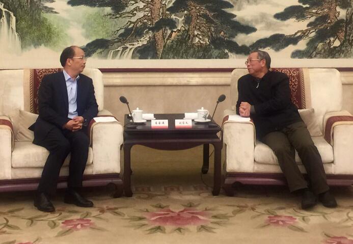 刘家义会见中国工商银行负责人