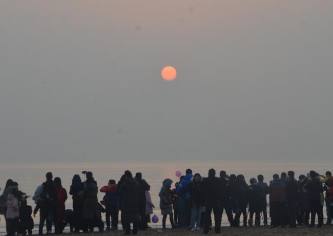 2018中国(日照)元旦迎日祈福大典隆重举行