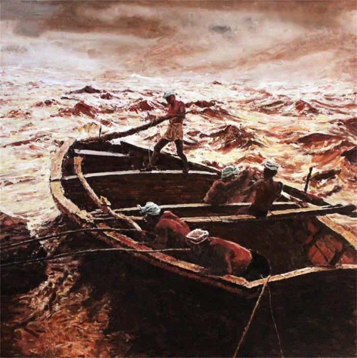潍坊青年油画家联展开展 8位油画家携80幅画作亮相