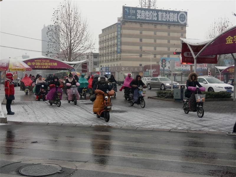 海丽气象吧丨济宁发布道路结冰橙色预警 全市平均降雪量3.1毫米