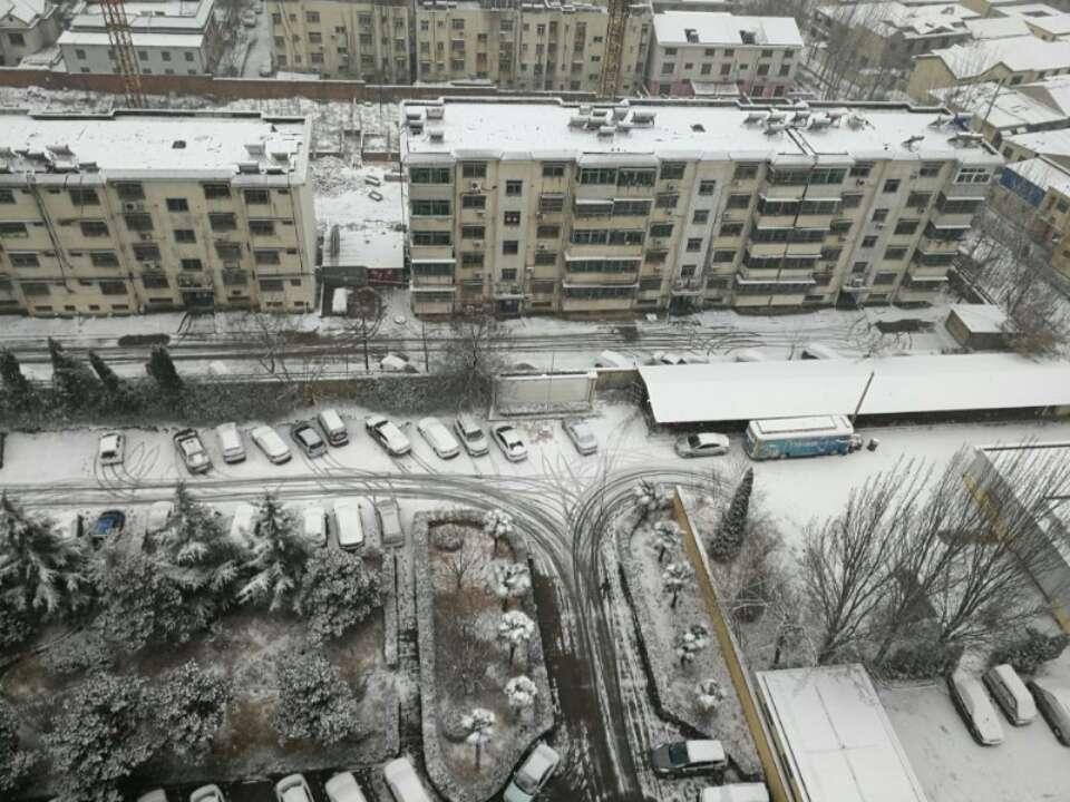 枣庄发布暴雪黄色预警 积雪深度已达2.4厘米