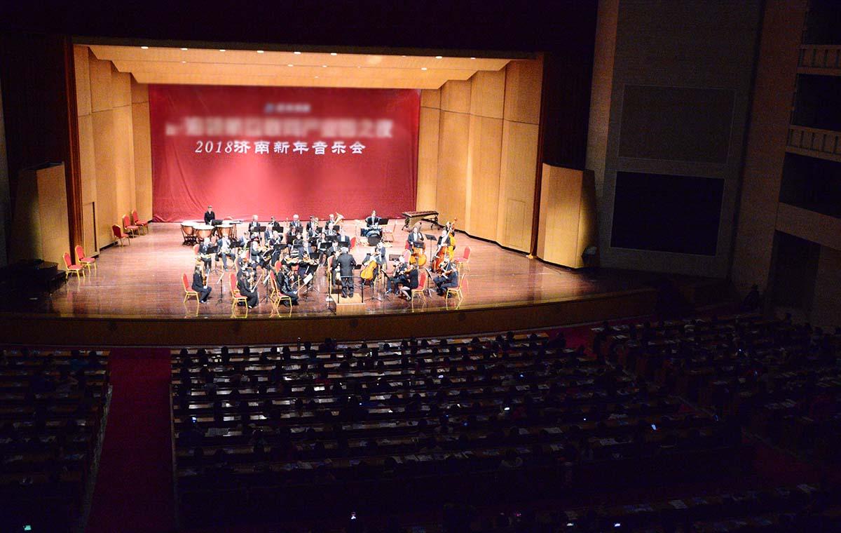 爱乐乐团来济南啦!贝多芬、莫扎特保留曲目让观众陶醉