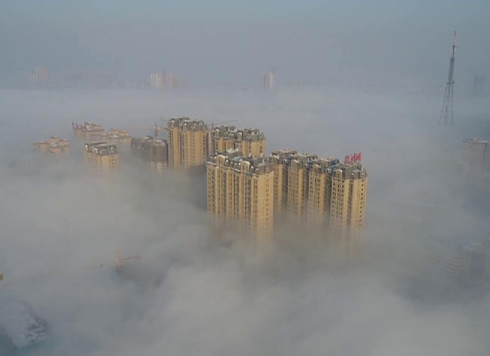 海丽气象吧丨山东今晚迎新年第二场降雪 菏泽现罕见平流雾景观