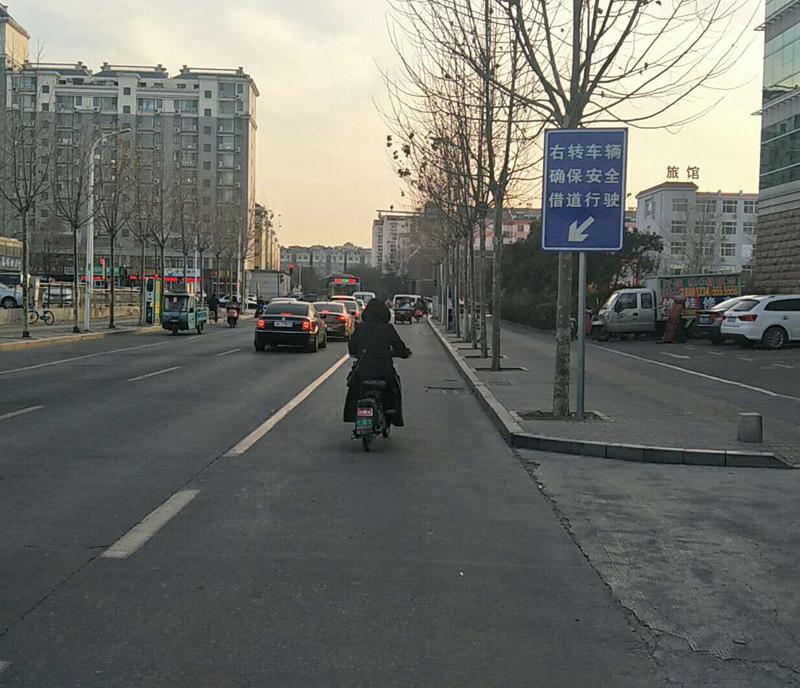 """司机朋友们注意!淄博市华光路与义乌路4处""""微整形"""""""