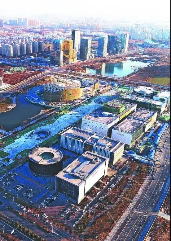 淄博文化中心大剧院2018年国庆开放 占地6万余平米