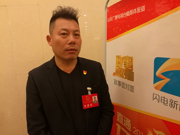 代表李明:把大会精神带到上海 为临沂招商引资牵线搭桥