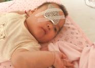 """心痛!脑出血、痉挛症…潍坊1岁女婴急需""""救命钱"""""""