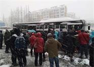 大雪来袭 威海市多条公交线路进行临时调整