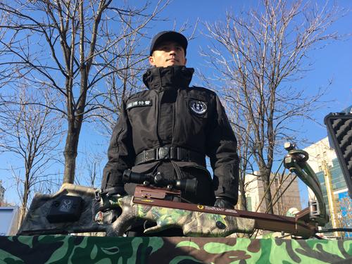 淄博举行110宣传日活动 部分警务装备亮相