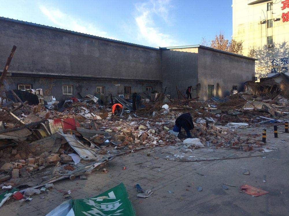 租地盖房不交租金,济南历城法院强制执行 拆除22间房屋