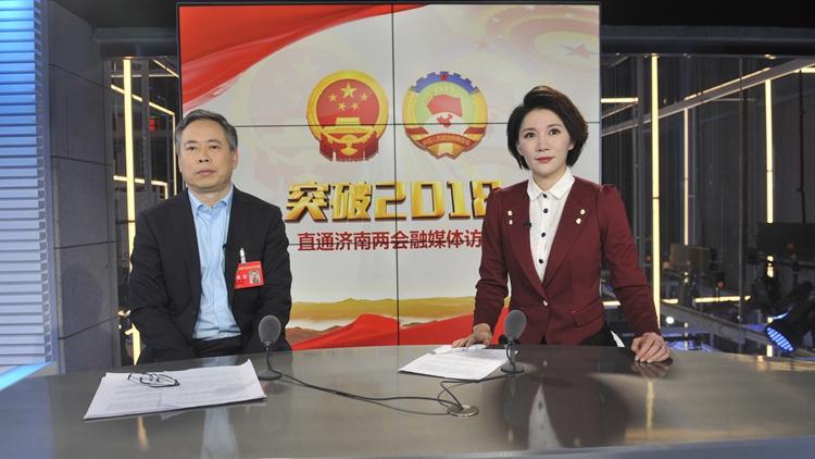 """访齐鲁制药副总裁孙同顺:推动""""中国新""""向""""全球新""""战略转变"""