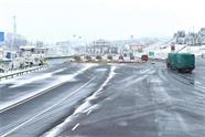 受降雪影响 威海、荣成方向多处高速收费站临时关闭