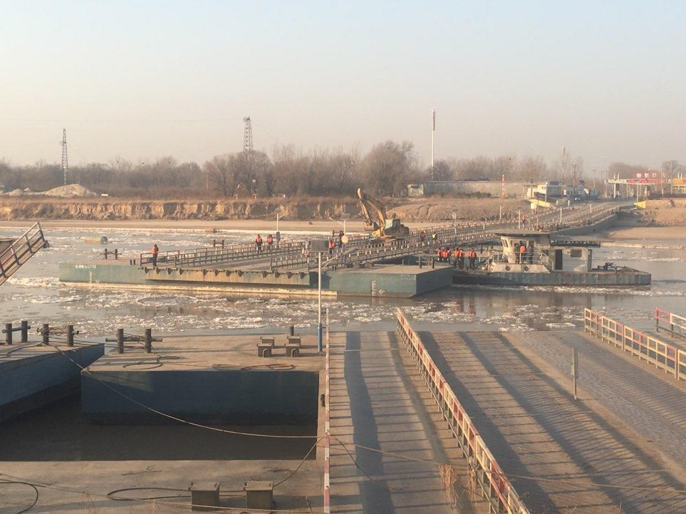 提醒! 为防凌汛济南泺口浮桥拆了,可绕行黄河公路大桥