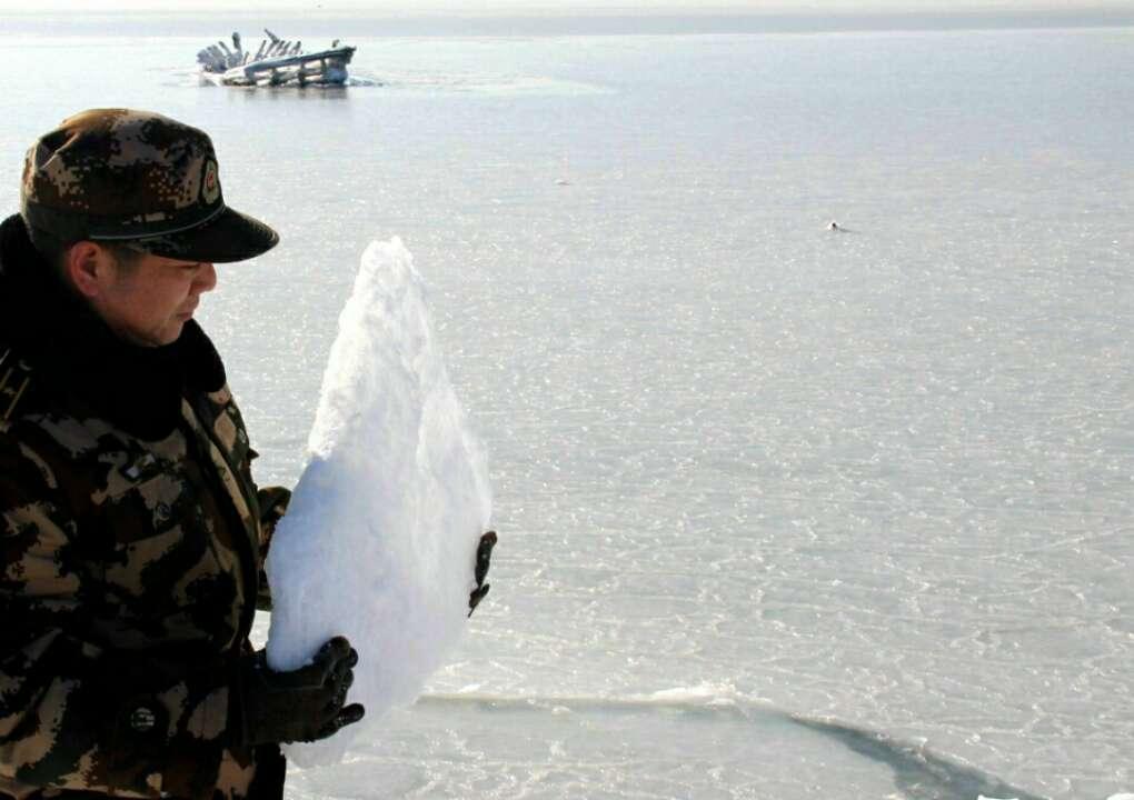 莱州湾现较大面积海冰
