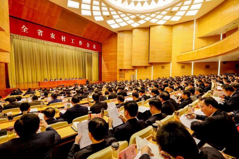 全省农村工作会议召开 刘家义龚正讲话刘伟王文涛出席