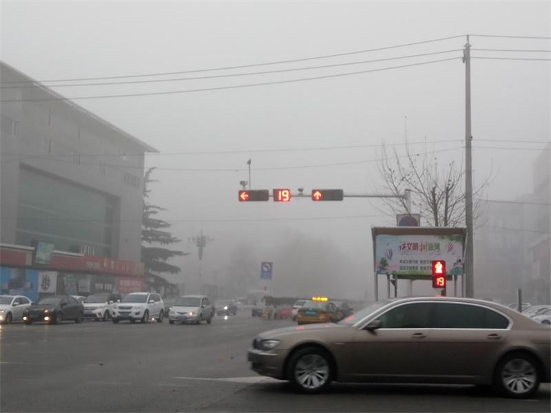 海丽气象吧丨济宁发布大雾橙色预警 部分区域能见度不足50米