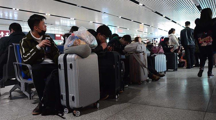 放假了!今明两日济南火车站迎来学生返乡最高峰