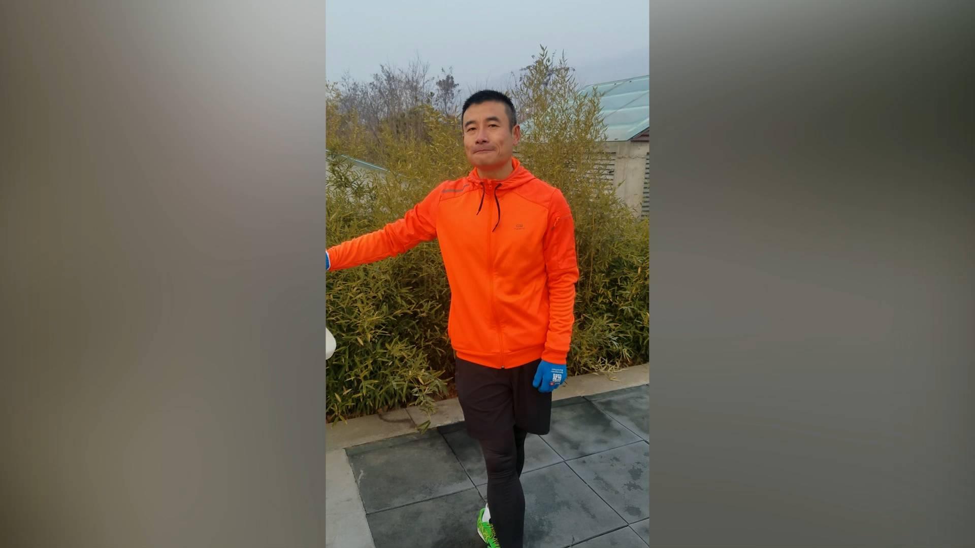 """我拍新山东丨家门口参加国际比赛 泰安""""型男"""":感觉真棒!"""
