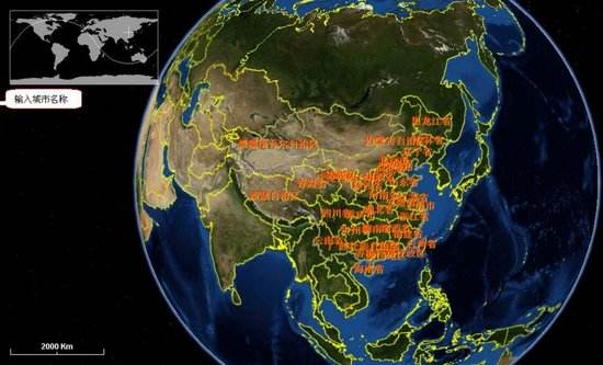 2025年山东地理信息行业年总产值将突破2000亿元
